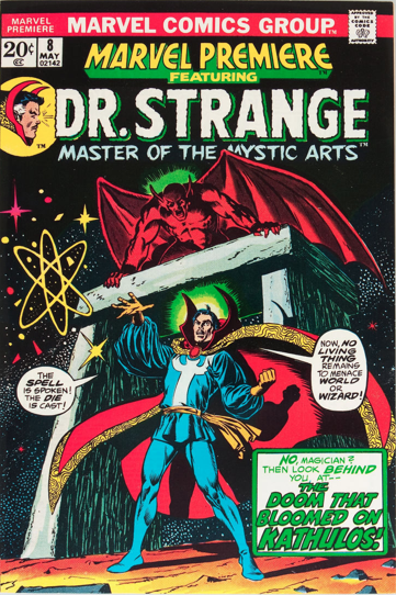 Marvel Premiere #8 (May, 1973) : Dr. Strange. Click for values