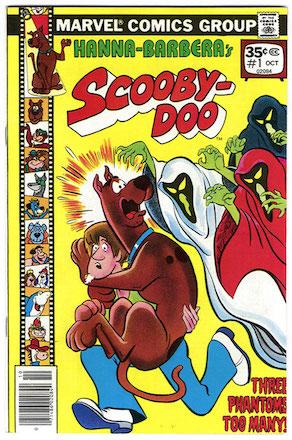 RARE! Scooby Doo #1 Marvel 35 Cent Price Variant