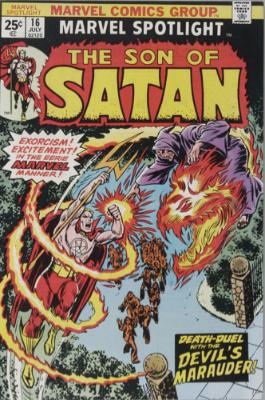 Marvel Spotlight #16, July, 1974: Son of Satan. Click for value