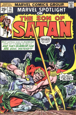 Marvel Spotlight #19, December, 1974: Son of Satan. Click for value