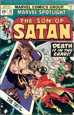 Marvel Spotlight #20, February, 1975: Son of Satan. Click for value