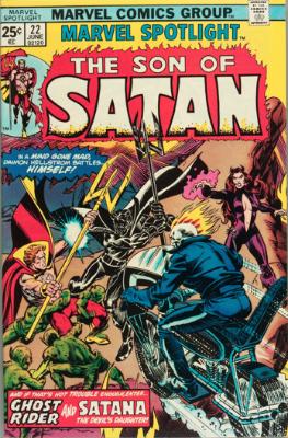 Marvel Spotlight #22, June, 1975: Son of Satan. Click for value