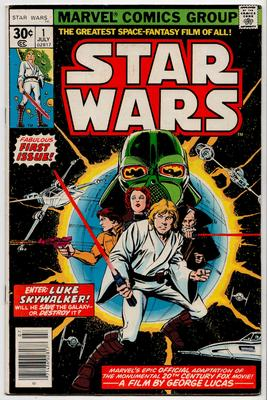 Marvel Star Wars comics Value? SW Issue 1