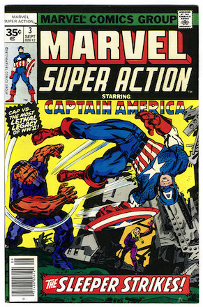 Marvel Super Action #3 Marvel 35c Price Variant