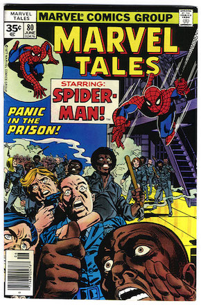 Marvel Tales #80 Marvel 35 Cent Price Variants Edition
