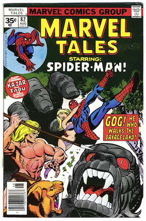 Marvel Tales #82 Marvel 35c Price Variant
