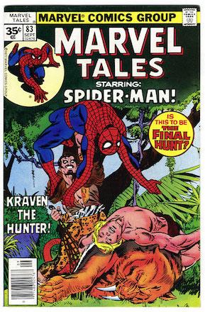 Marvel Tales #83 Marvel 35c Price Variant