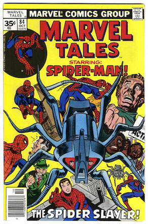 Marvel Tales #84 Marvel 35 Cent Price Variant