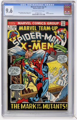 CGC 9.8 copies of Marvel Team-Up 4 are very rare. So we recommend you find a WHITE pages copy in 9.6. Click to invest!