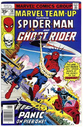 Marvel Team-Up #58 35 Cent Price Variant