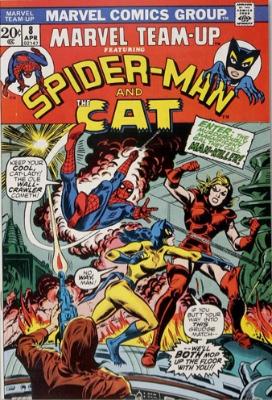 Origin and First Appearance, Man-Killer, Marvel Team-Up #8, Marvel Comics, 1973. Click for value