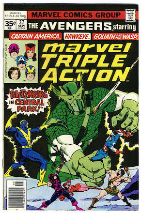 Marvel Triple Action #37 35 Cent Price Variant