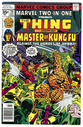 Marvel Two-in-One #29 35 Cent Price Variant