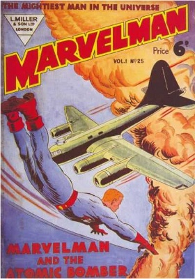 Marvelman #25: First Appearance, Marvelman. Click for values