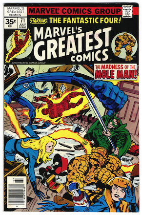 Marvel's Greatest Comics #71 Marvel 35c Price Variant