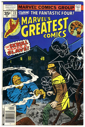 Marvel's Greatest Comics #72 Marvel 35 Cent Variant