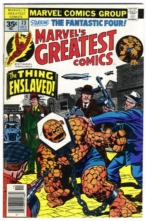 Marvel's Greatest Comics #73 Marvel 35c Variant