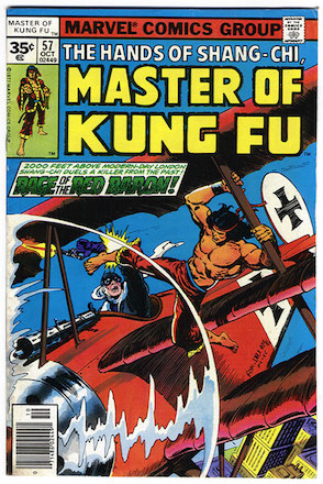 Master of Kung-Fu #57 35c Price Variant