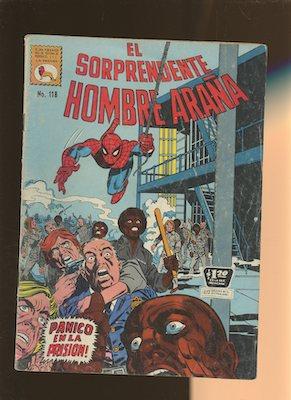 Mexican Spider Man vol 1 #118. Click for values.