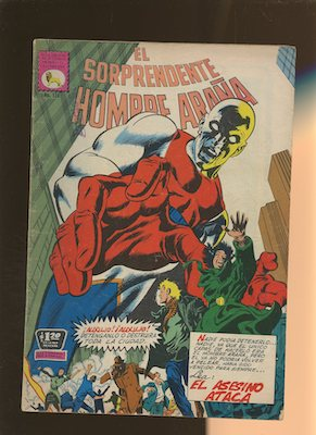 Mexican Spider Man vol 1 #124. Click for values.