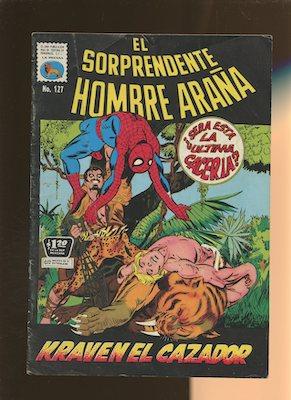 Mexican Spider Man vol 1 #127. Click for values.