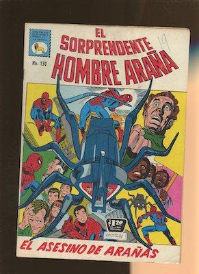 Mexican Spider Man vol 1 #130. Click for values.