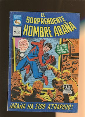 Mexican Spider Man vol 1 #131. Click for values.