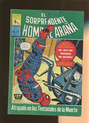Another example of type one of the Mexican Spider Man reprints
