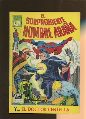 Mexican Spider Man vol 1 #134. Click for values.