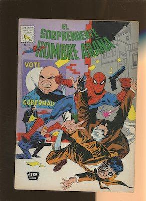 Mexican Spider Man vol 1 #136. Click for values.