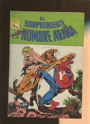 Mexican Spider Man vol 1 #138. Click for values.
