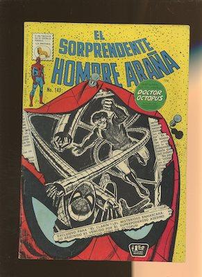 Mexican Spider Man vol 1 #143. Click for values.