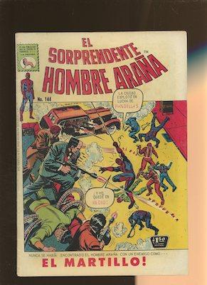 Mexican Spider Man vol 1 #144. Click for values.