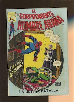 Mexican Spider Man vol 1 #145. Click for values.