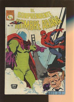 Mexican Spider Man vol 1 #146. Click for values.