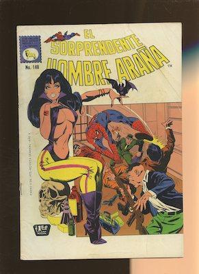 Mexican Spider Man vol 1 #148. Click for values.