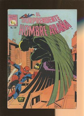 Mexican Spider Man vol 1 #149. Click for values.