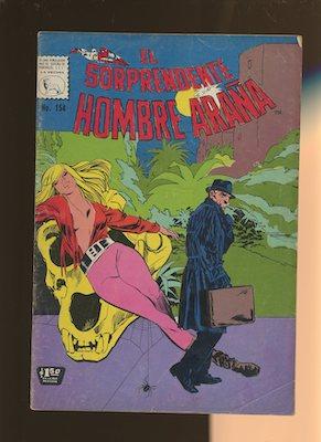 Mexican Spider Man vol 1 #154. Click for values.