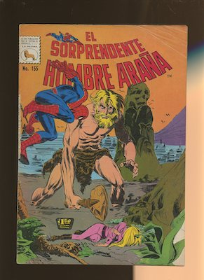 Mexican Spider Man vol 1 #155. Click for values.