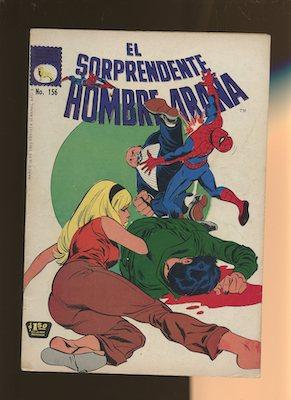 Mexican Spider Man vol 1 #156. Click for values.