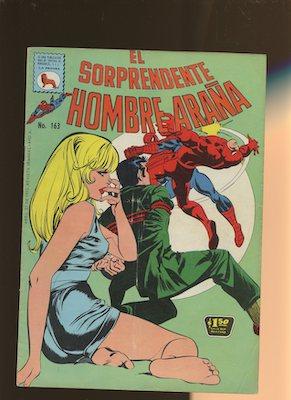 Mexican Spider Man vol 1 #163. Click for values.