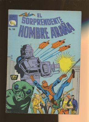 Mexican Spider Man vol 1 #166. Click for values.