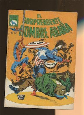 Mexican Spider Man vol 1 #167. Click for values.