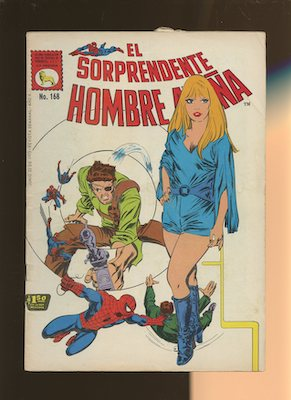 Mexican Spider Man vol 1 #168. Click for values.