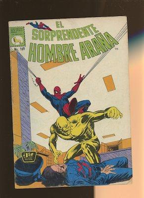 Mexican Spider Man vol 1 #169. Click for values.