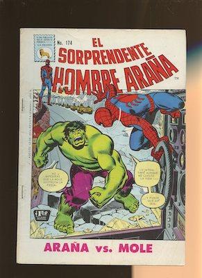 Mexican Spider Man vol 1 #174. Click for values.