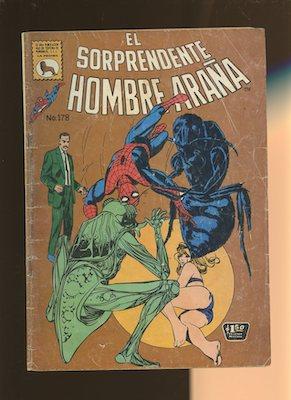 Mexican Spider Man vol 1 #178. Click for values.