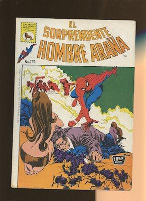 Mexican Spider Man vol 1 #179. Click for values.