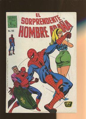 Mexican Spider Man vol 1 #180. Click for values.