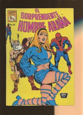 Mexican Spider Man vol 1 #181. Click for values.